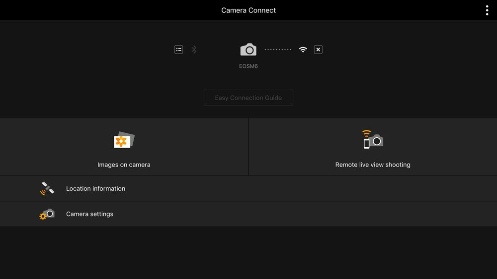 The Camera Connect app from Canon is simple and reliable.