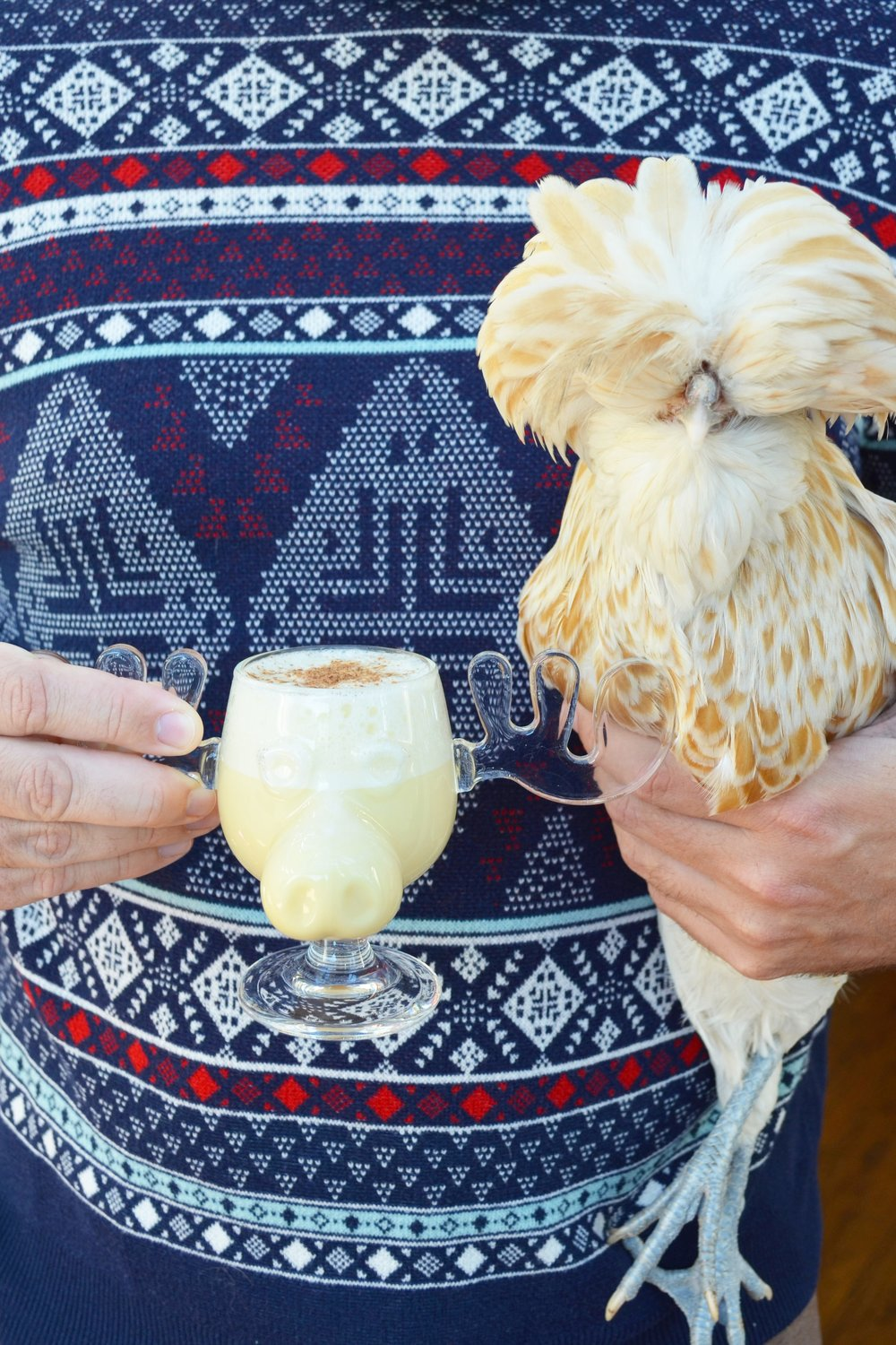 Eggnog and a muppet | drinkingwithchickens.com