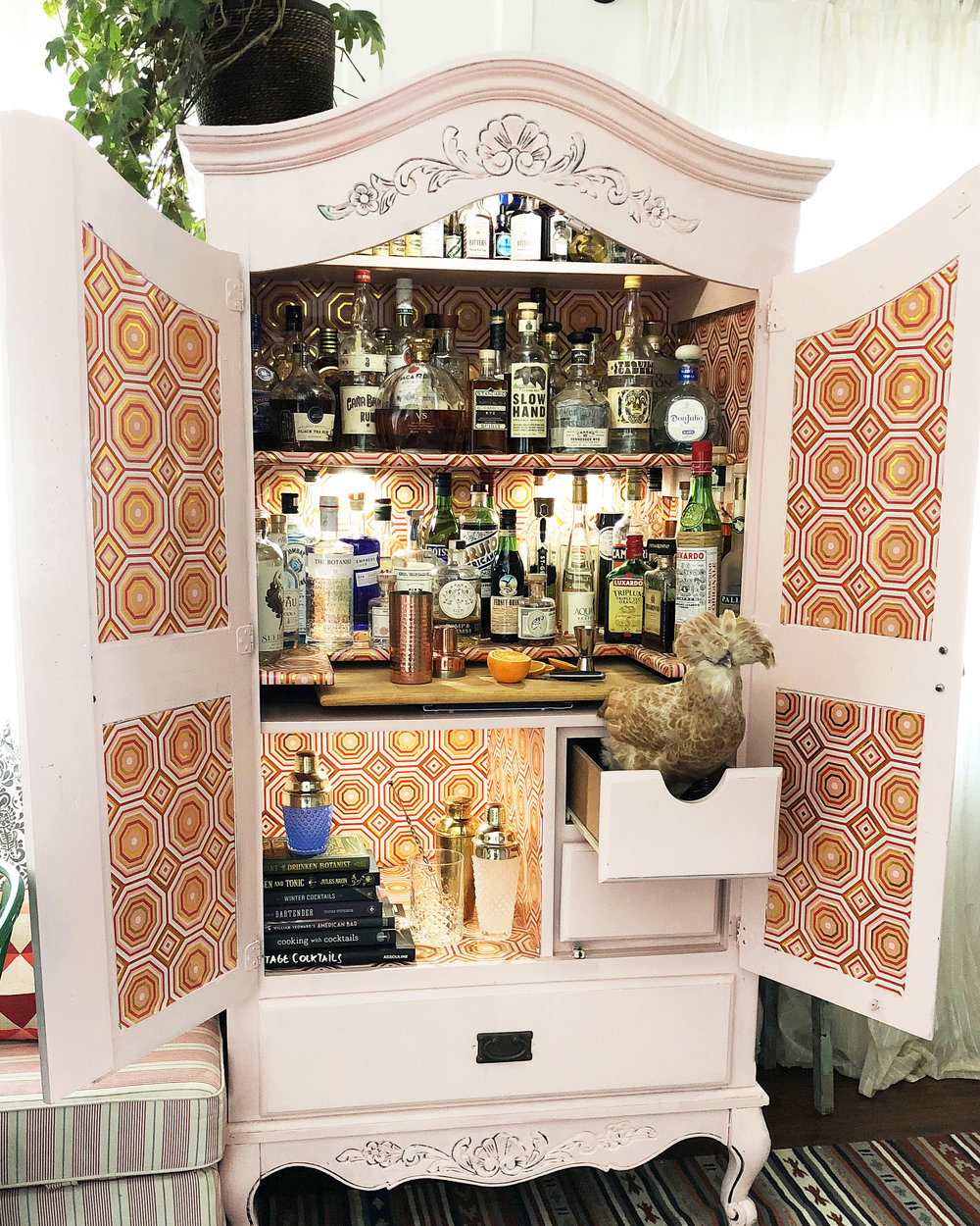 The Barmoire | drinkingwithchickens.com