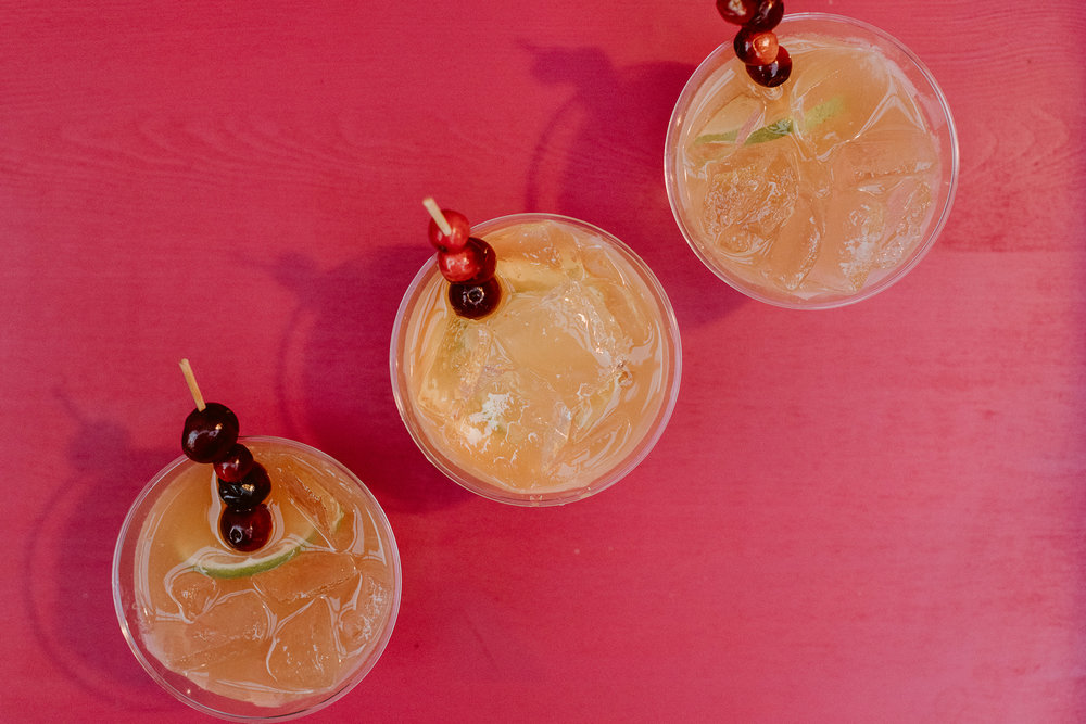 Holiday mai tai's courtesy of Havana Club Rum | drinkingwithchickens.com