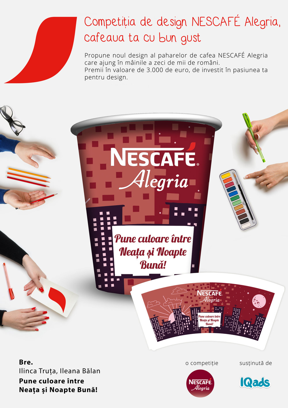 ADD COLOR BETWEEN MORNING AND NIGHT |  Nescafe Alegria