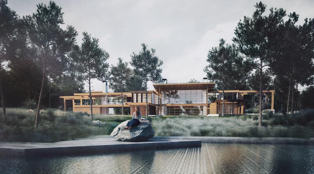 LAMERWOOD HOUSE |  Atelier/D & Bre.