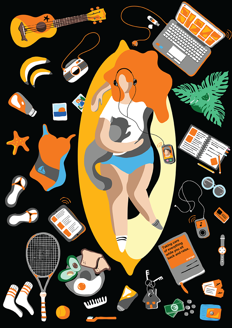 ORANGE ILLUSTRATION CHALLENGE |  Orange France