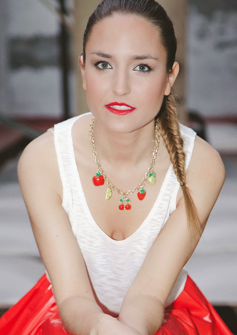 oh my spring chic-look-citymladyp-lady red-make up