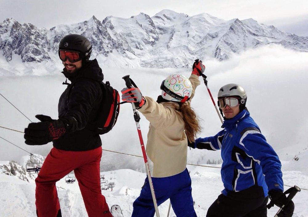 friends-ski