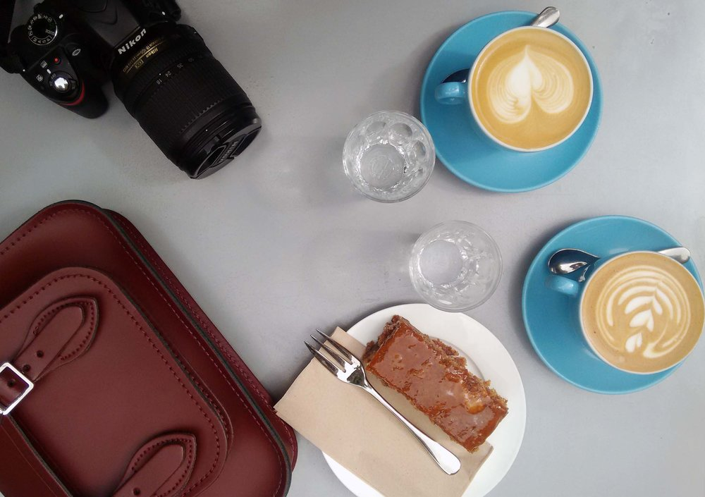Sin duda de los mejores cafés que he tomado últimamente.  Colonna and Small's . Super rico!! :-)