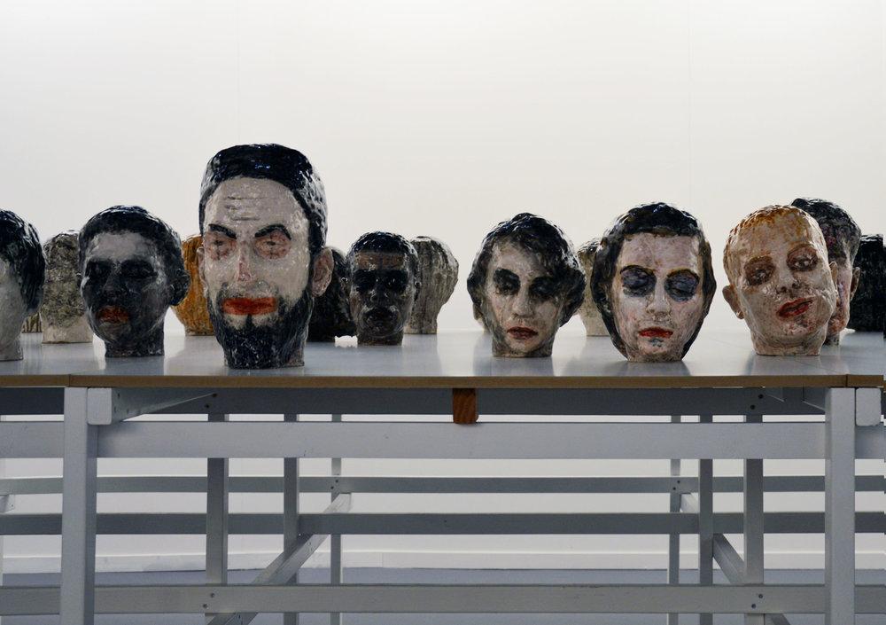 Obra del artista belga    Maen FLORIN    en    Galerie Nadja Vilenne