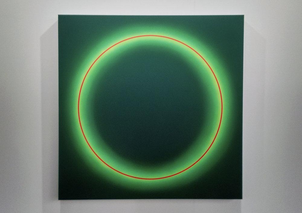 Obra de    José María Yturralde    en la Galería Javier López