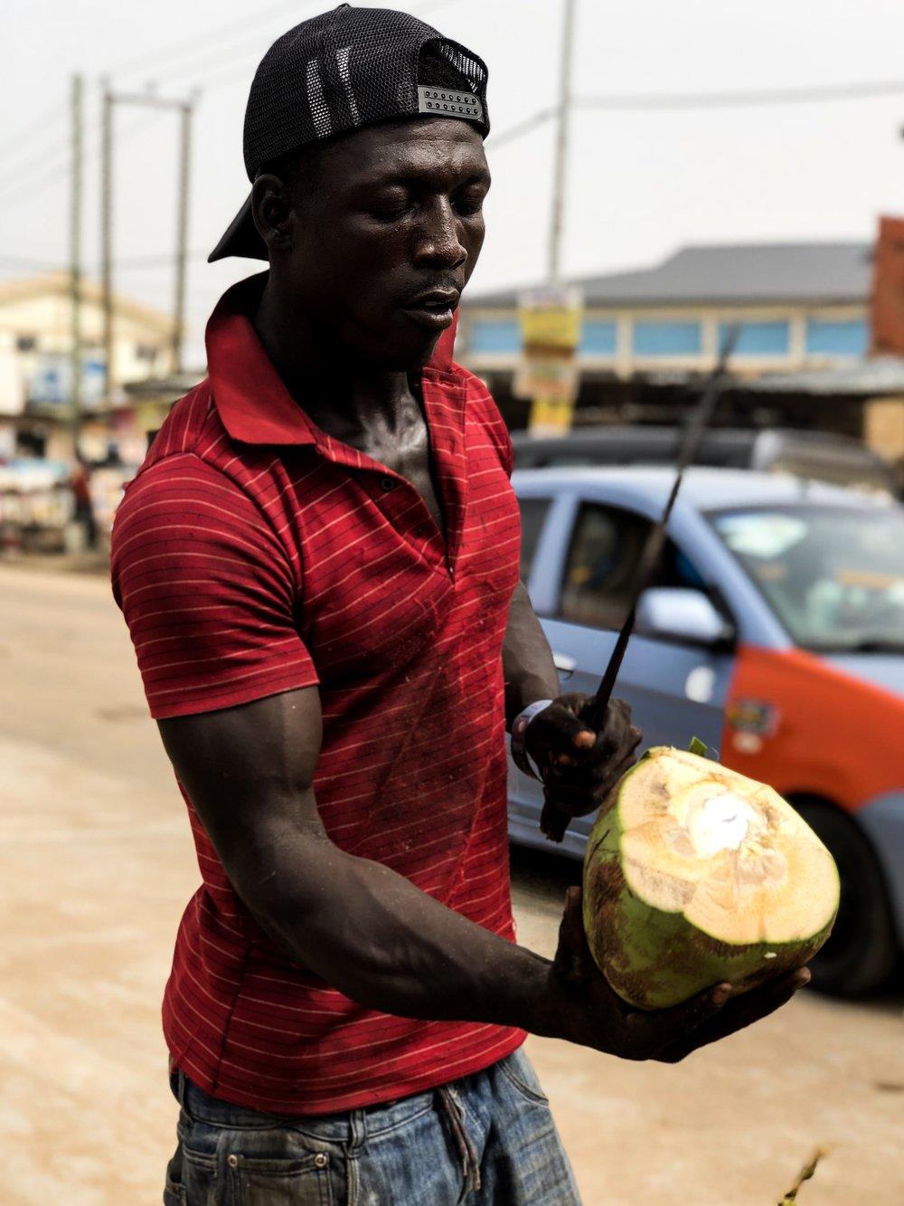 Ghana Coconuts
