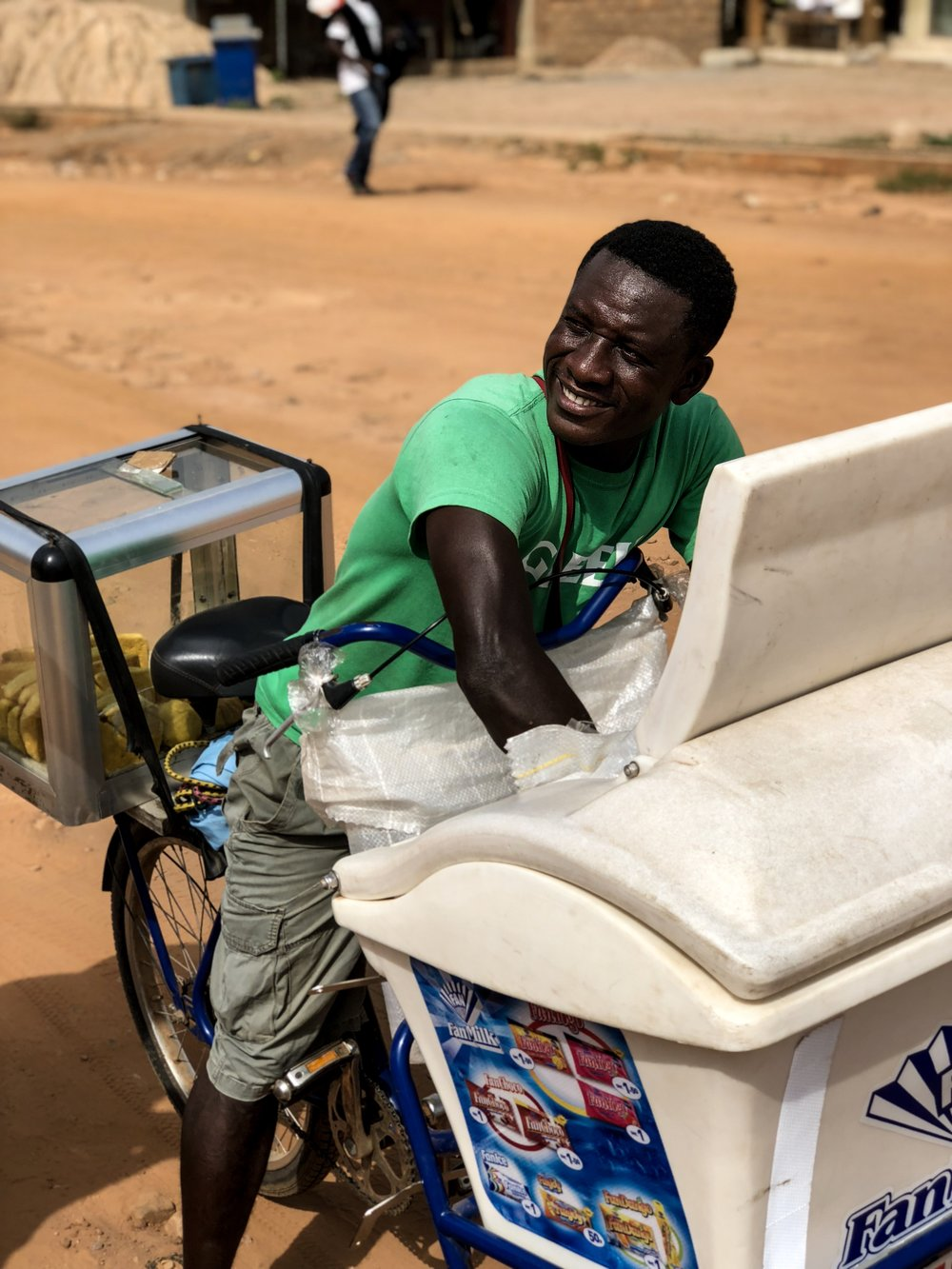 Ghana fan milk