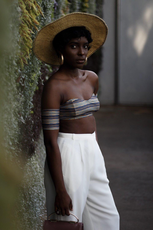 ghana straw hat