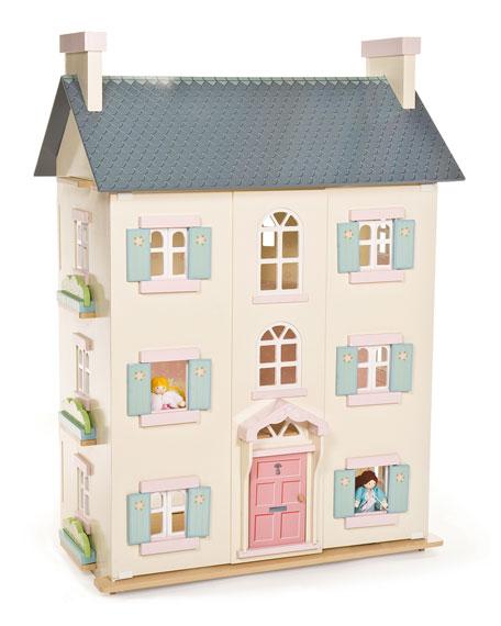 "Le Toy Van - ""Cherry Tree Hall""Dollhouse $320"