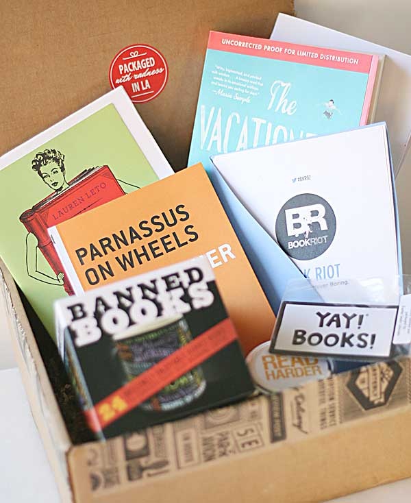 Quaterly Literary Box Subscription $50/month
