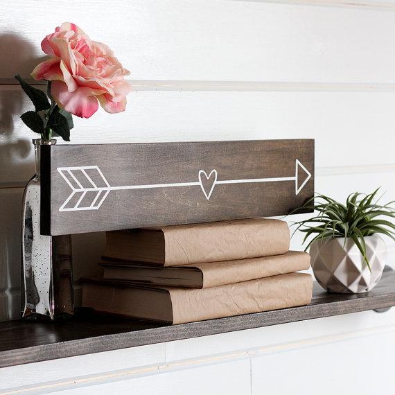 Wooden Arrow Sign