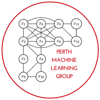 The Perth Machine Learning Group (PMLG)is striving to become a forum where confidence, knowledge and skills in Machine Learning can be developed and fostered through a commitment to teaching & community. -
