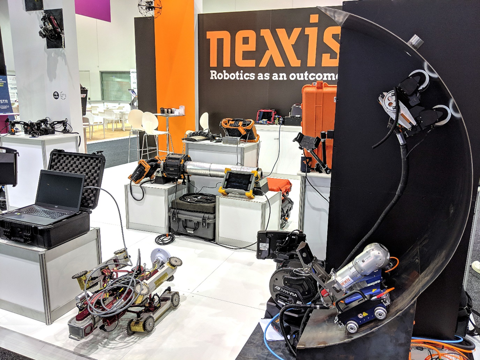 Half of the Nexxis and SixDe booth (it was too big for just one photo!)