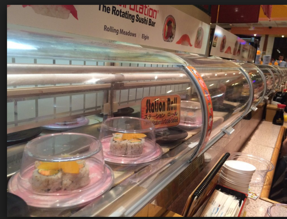 Sushi Conveyer at Sushi Station