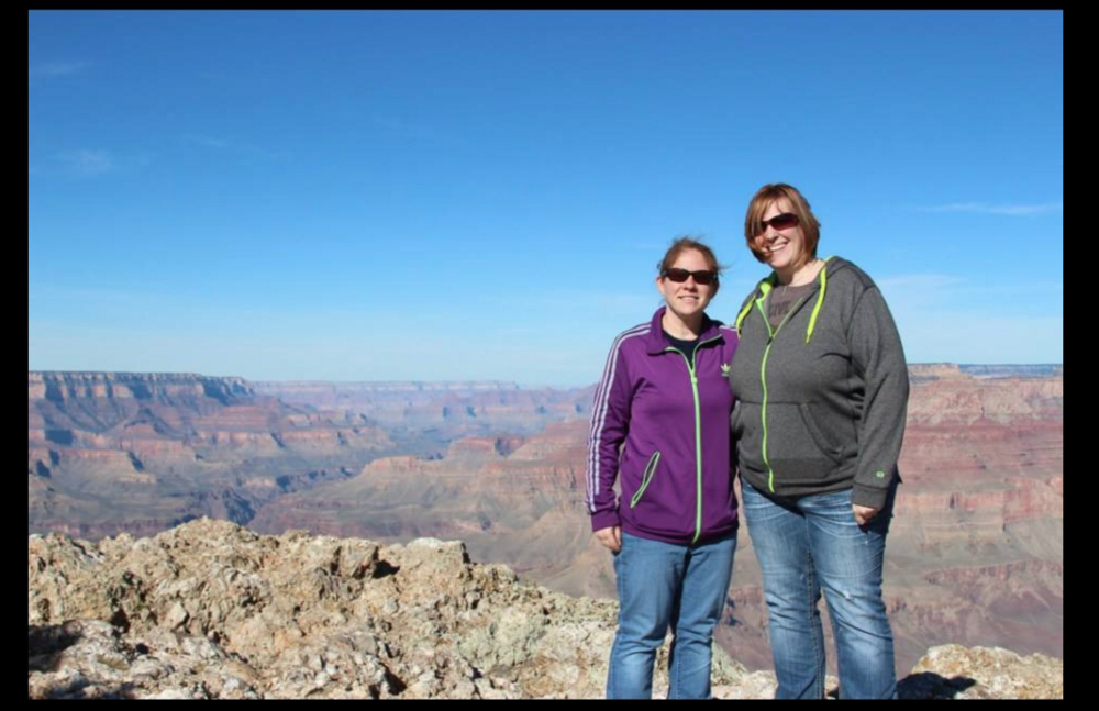M and I at the Grand Canyon