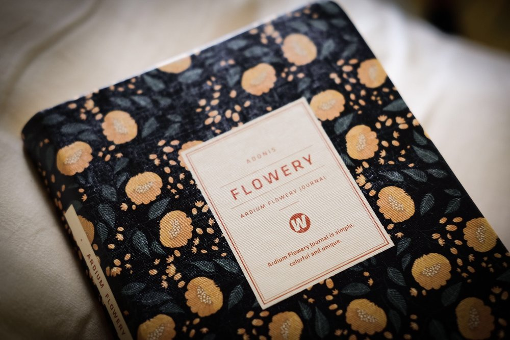 Ardium Flowery Journal