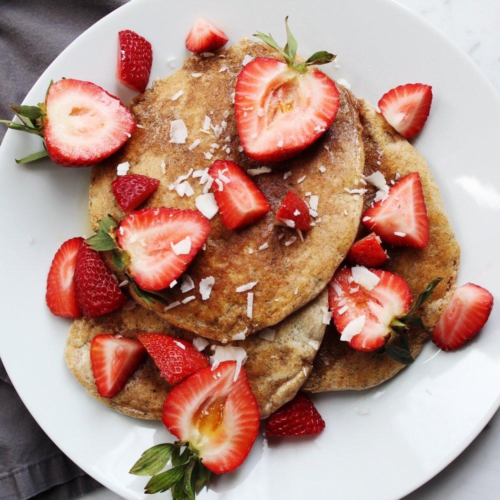Pillowy pancakes -