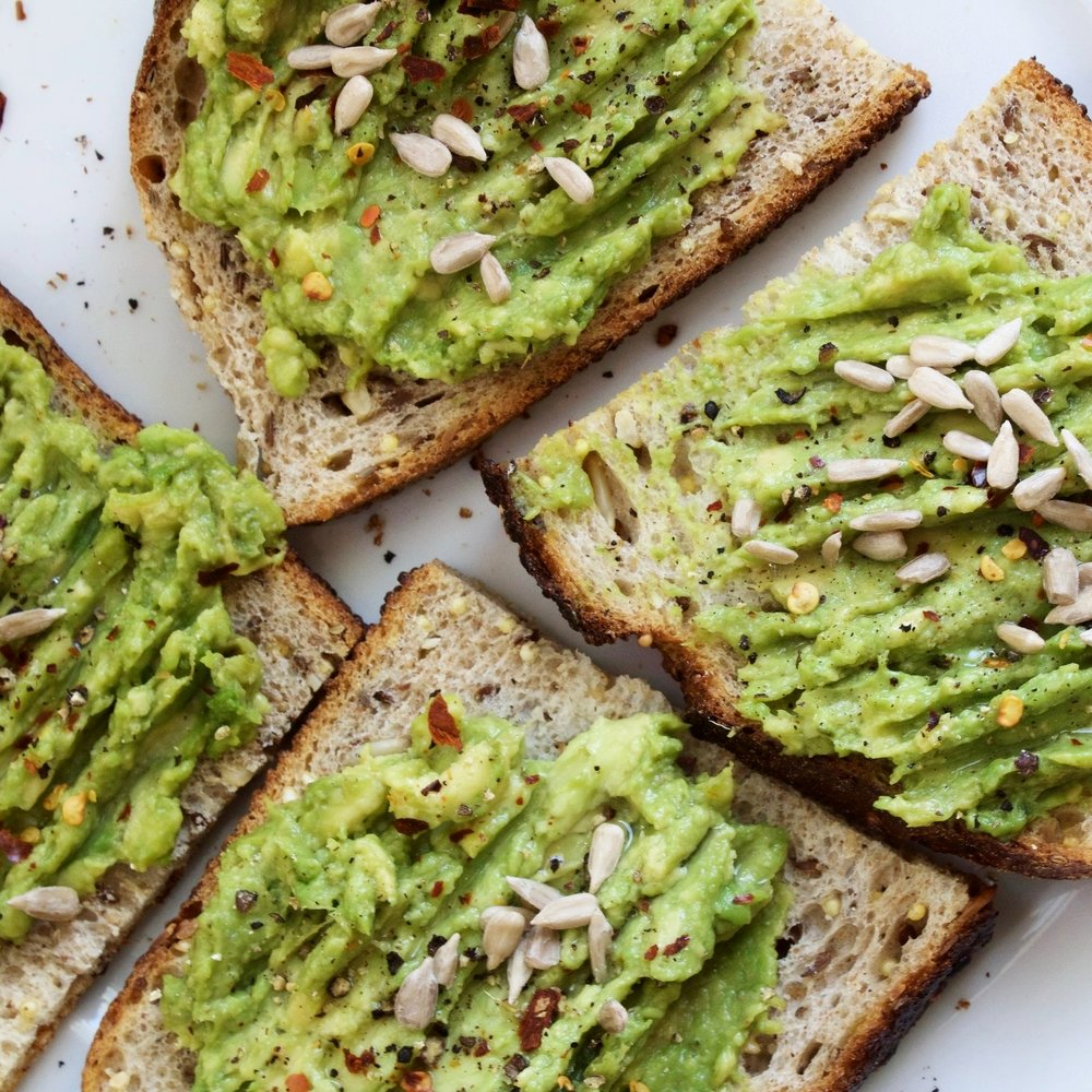 good ol' avocado toast -