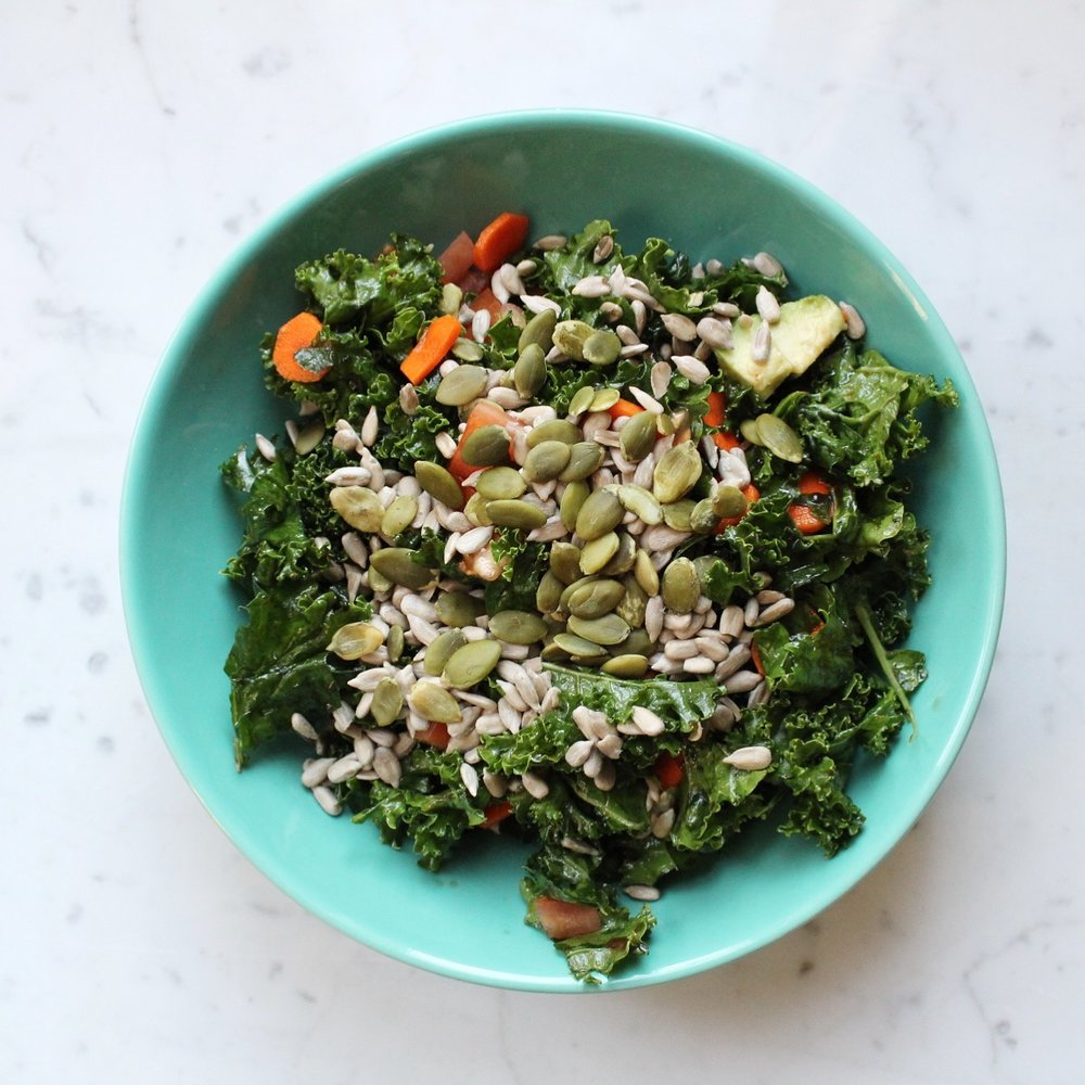 basic salad -