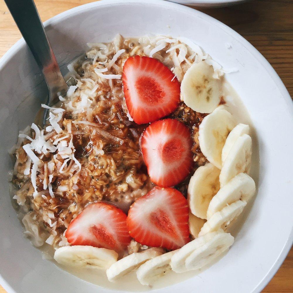 coconut porridge -