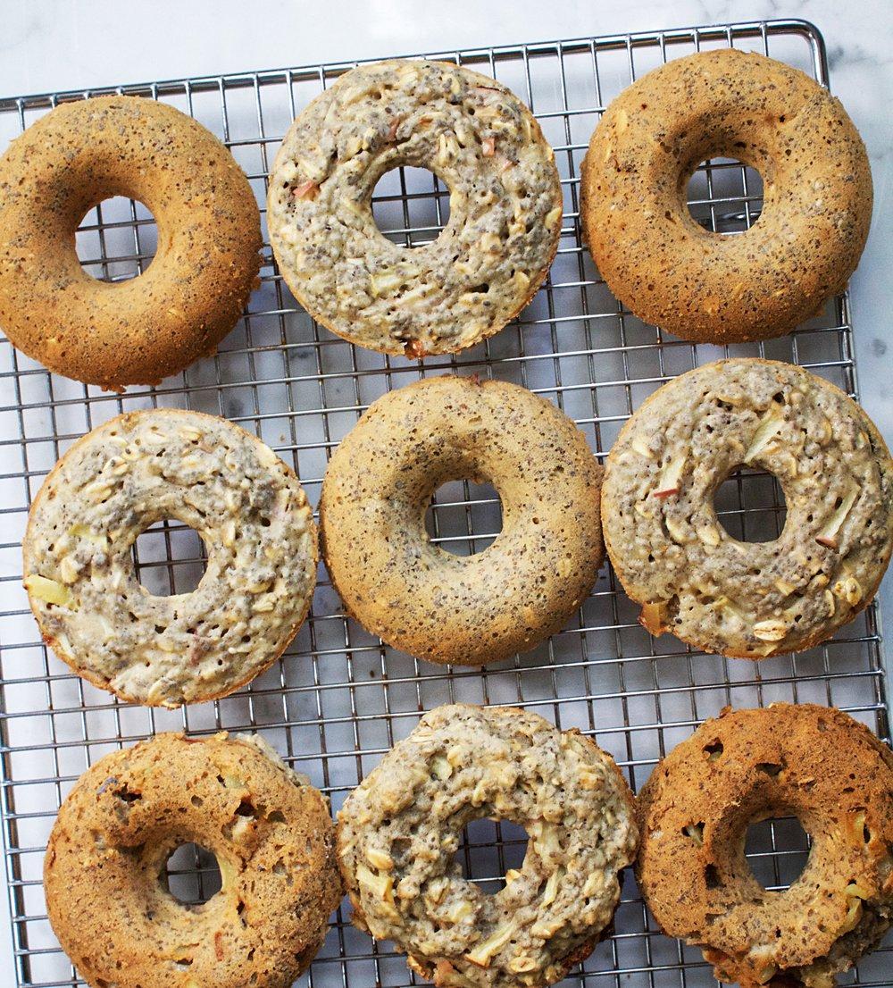 Apple Candy doughnuts -