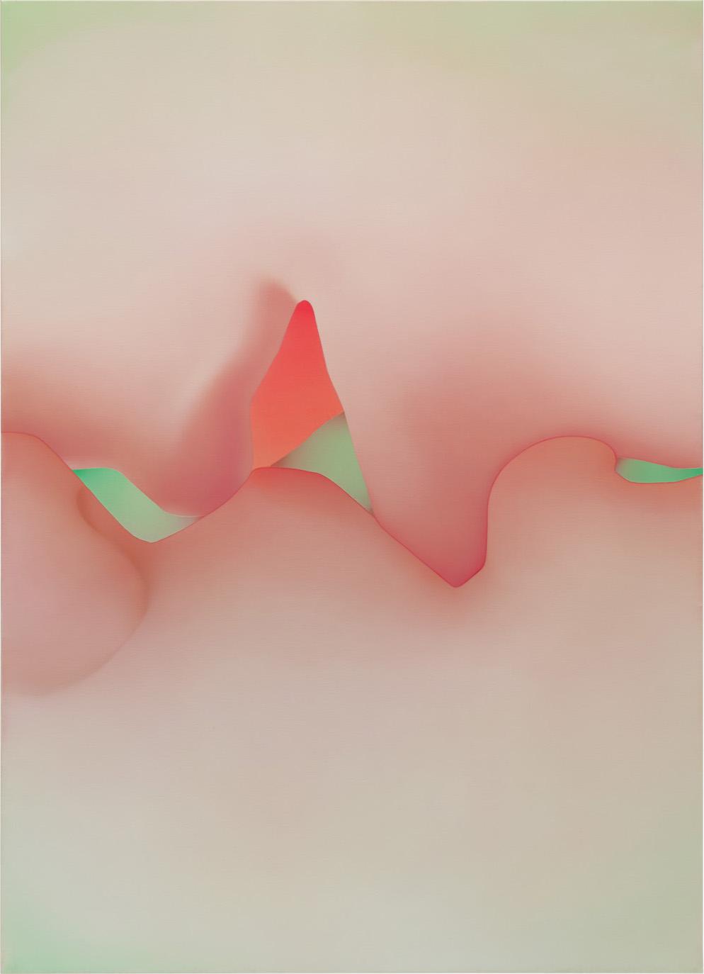 )( VI,  2018  oil on canvas  180 x 130 cm  Foto: Ivo Faber
