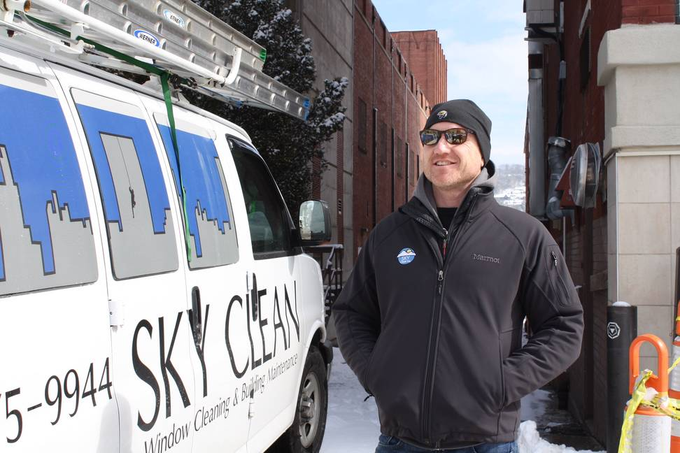 Sky Clean Works in the Cold