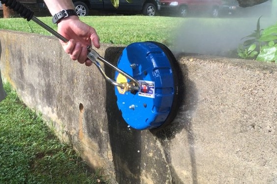 Sky Clean surface cleaner pressure washing vertical surface
