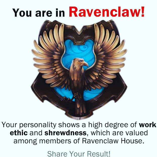 Time.com says I'm a Ravenclaw. Pottermore says I'm either a Hufflepuff or a Slytherin. Seriously, who even AM I?? #harrypotter #sortinghat #identitycrisis