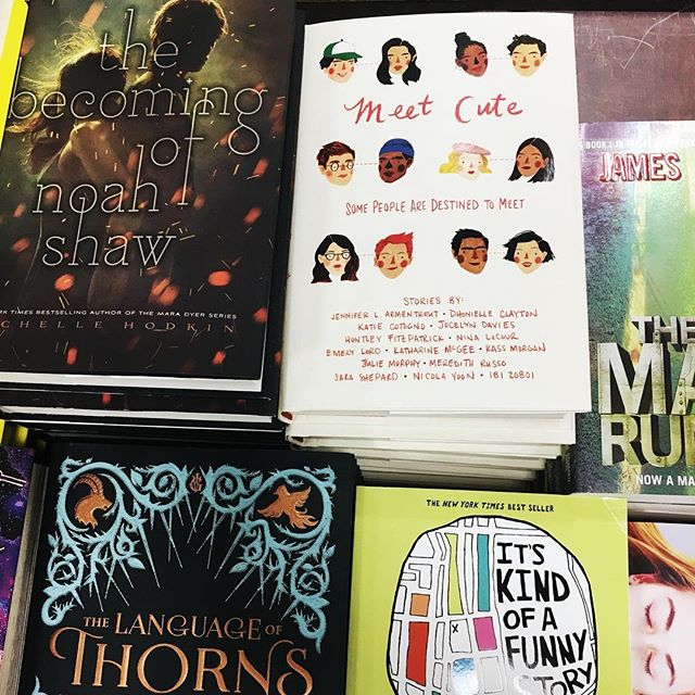 MEET CUTE lookin' cute on the @bnparkslope Must Reads table 😉 * * #meetcute #nyc #shortstories #lovestories #yalit #yabooks #yabookstagram #bookstagram #booksofinstagram #writersofinstagram #writersofig #booknerd #booknerdigans #bookworm #yanewreleases