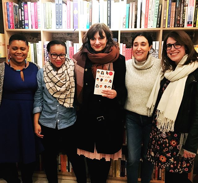 Magical night, magical bookstore, magical ladies! I've had so much fun being a part of this adorable anthology. If you know me at all, you know I take rom coms very seriously. Thanks to everyone who came to @booksaremagicbk and talked love stories with us! 😍 ✨ 💕 ✨ #meetcute #romcoms #lovestories #valentinesday #galentinesday #hmhteen #yalit #yaliterature #yabooks #yabookstagram #bookstagram #writersofig #writersofinstagram #indiebookstore