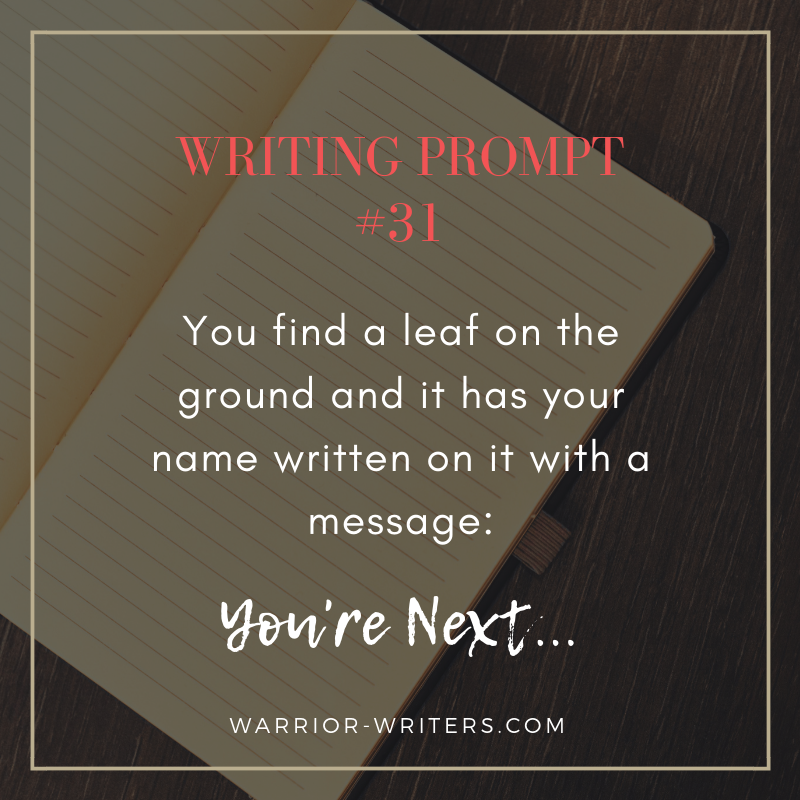 Writing Prompt