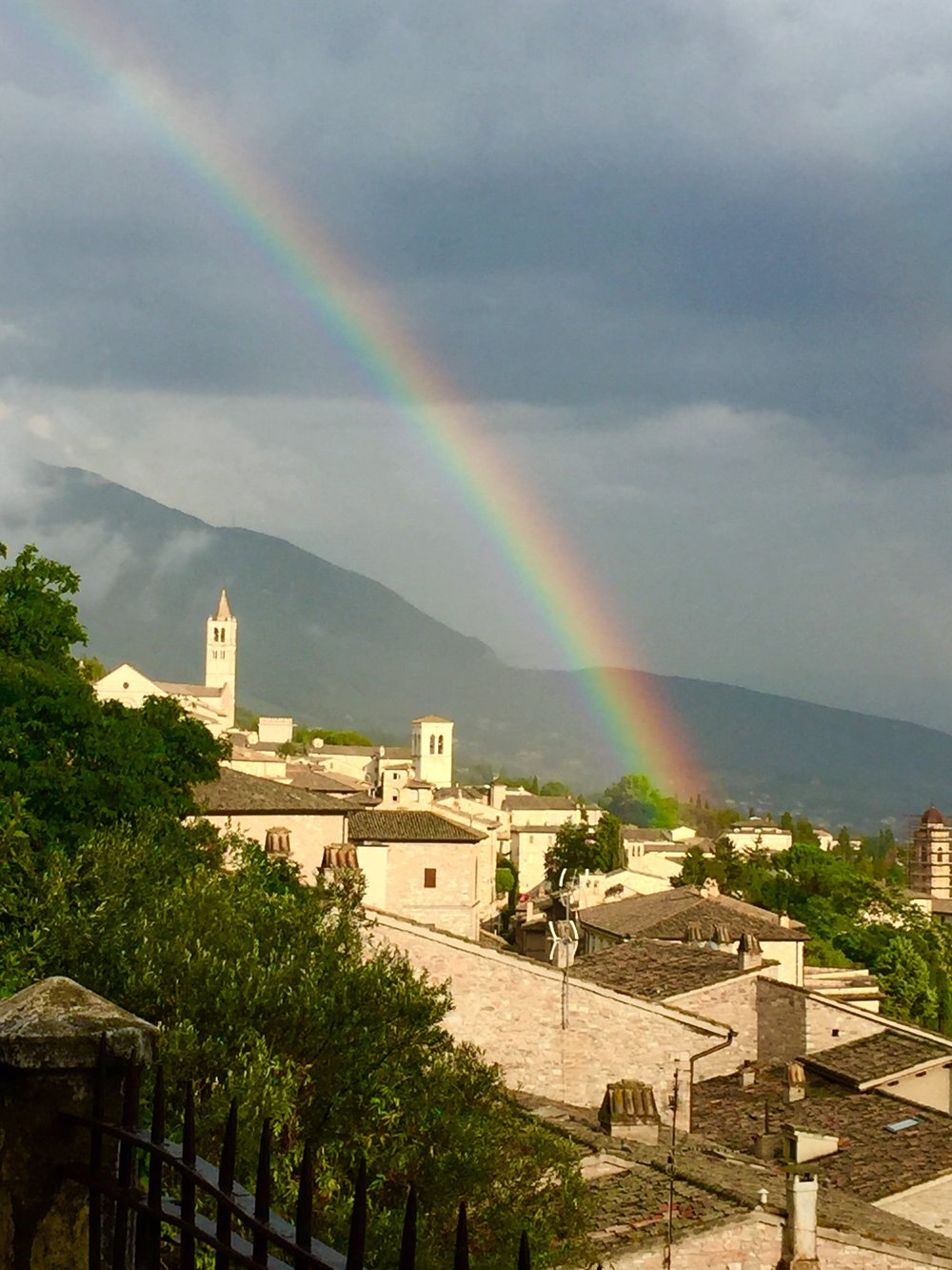 A view of Assisi during our June 2018 Retreat