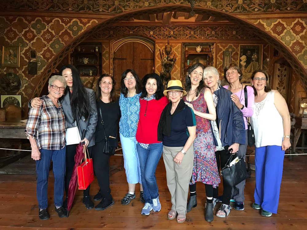 Diane Green Group Photo in Perugia June 2018.JPG