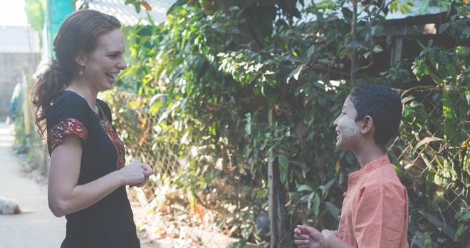 Erin Zaikis, Sundara founder in Yangon, Myanmar