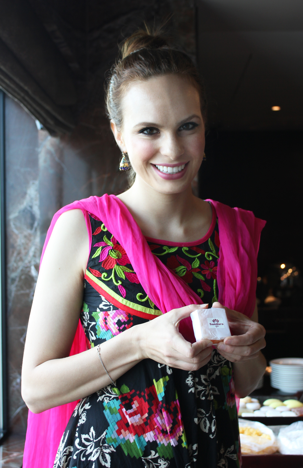 Erin in Mumbai, May 2015