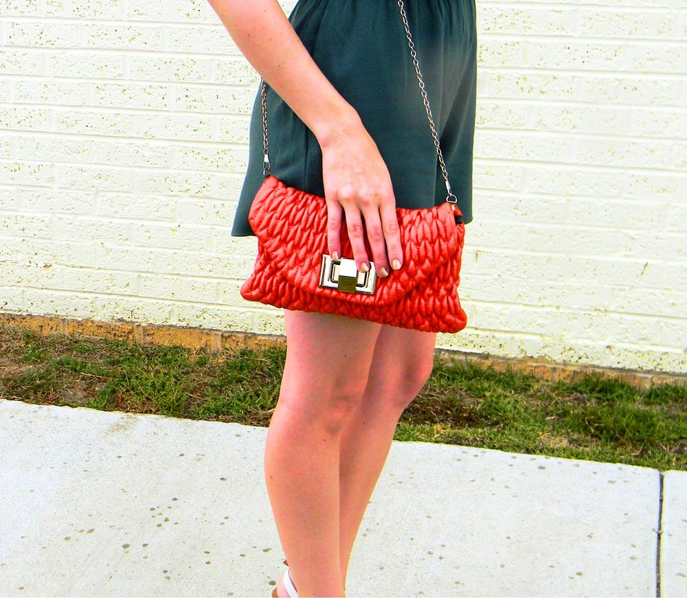 This crossbody bag is from Francesca's and is no longer available. Similar bag  here .