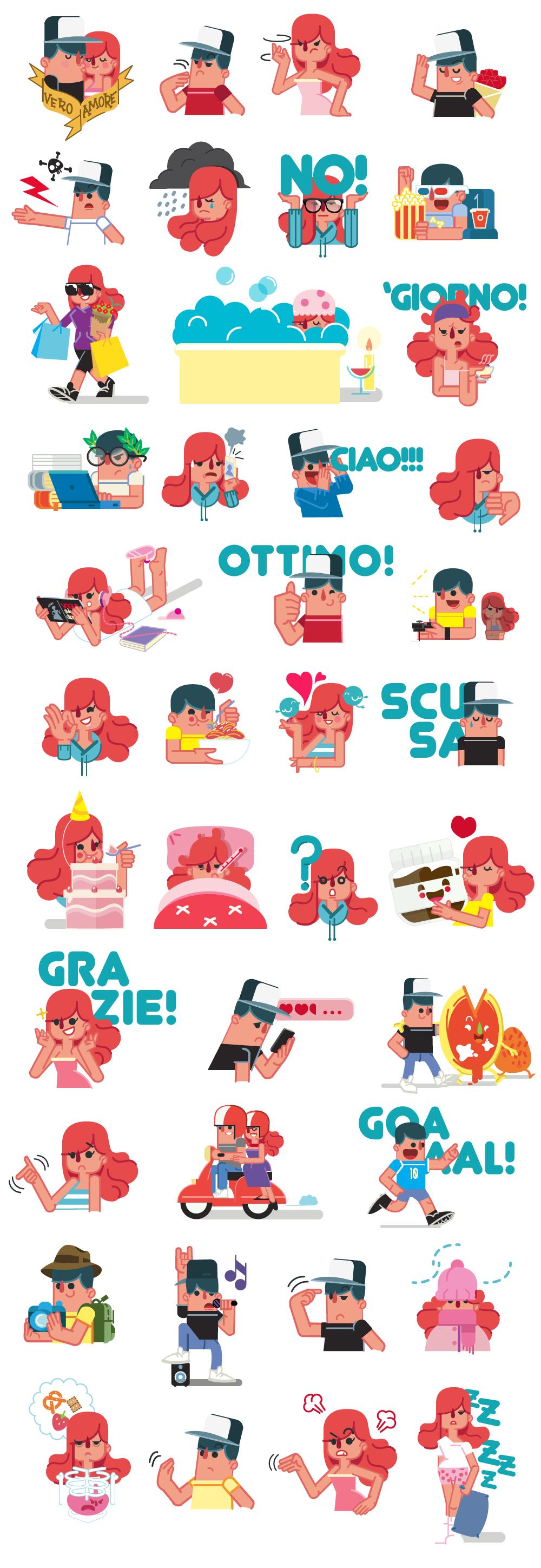 Lollo for Couple Sticker Line  186ref