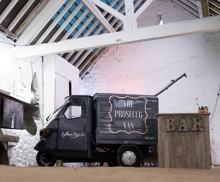 lytham fizz - wedding bar and prosecco van