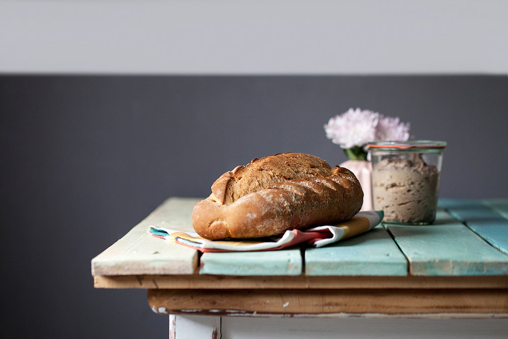 Pan de hierbas provenzales y aceite de oliva virgen extra