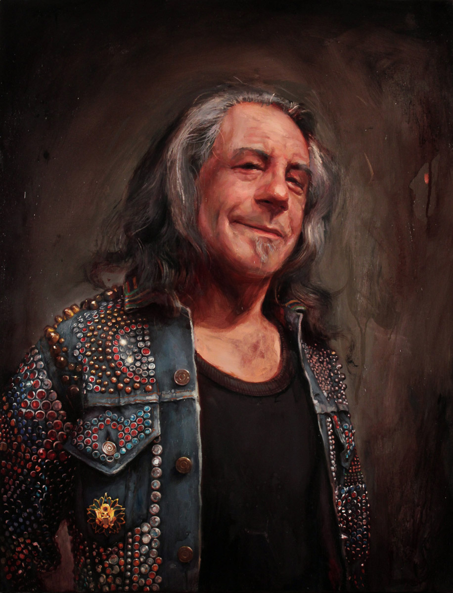 "'Portrait of Billy Shire', oil on canvas, 26"" x 20"", 2011, Collection of Billy Shire"