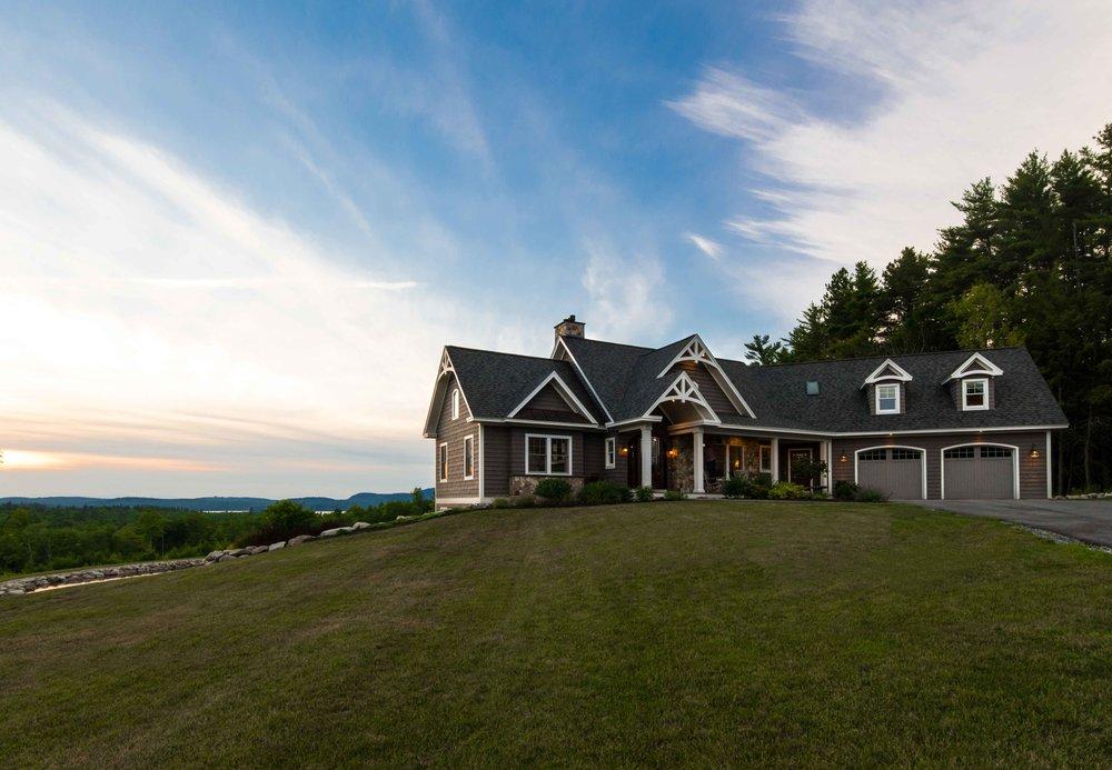 Mountain View Home, Raymond, Maine