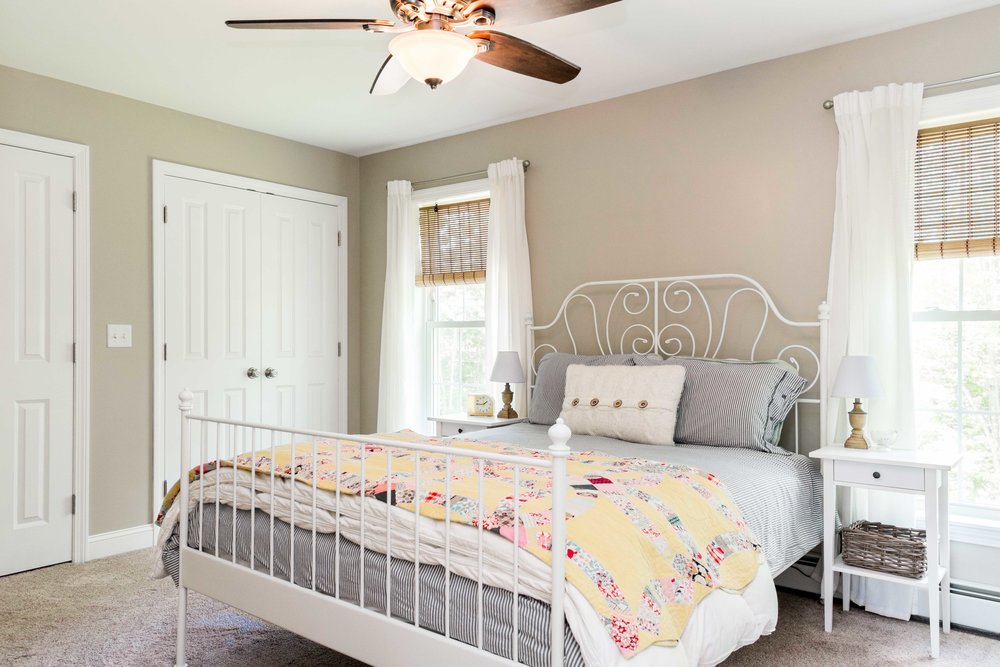 Autumn Lane Starter Home Colonial, Raymond Maine, Master Bedroom