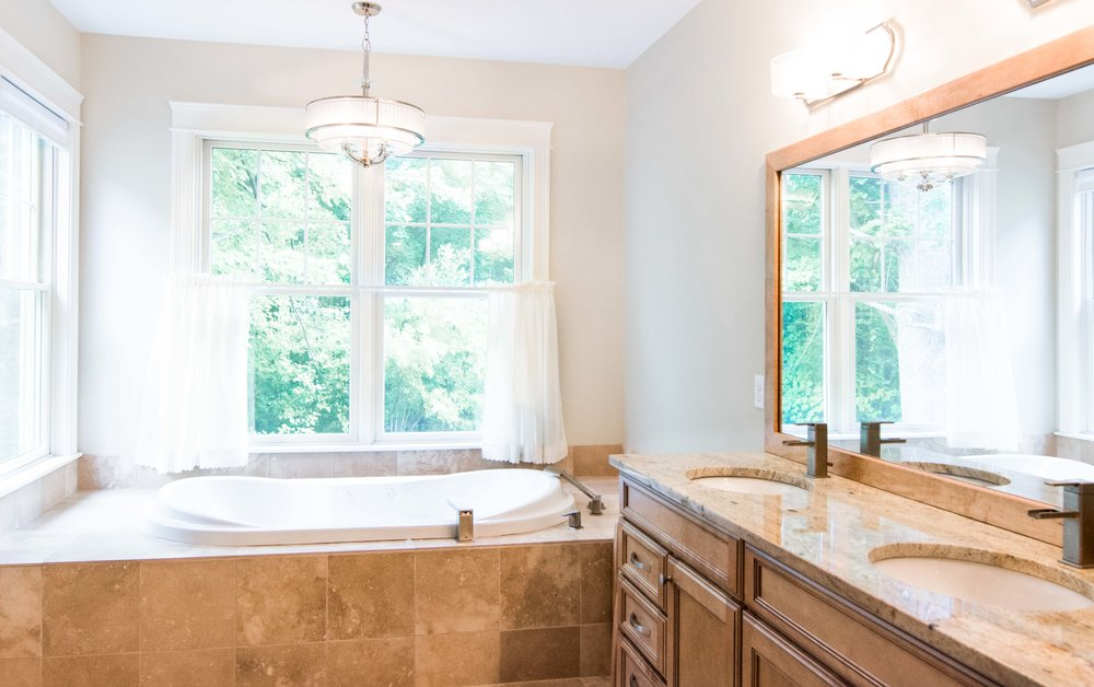 Stroudwater Cape, Portland, Maine, Master Bathroom