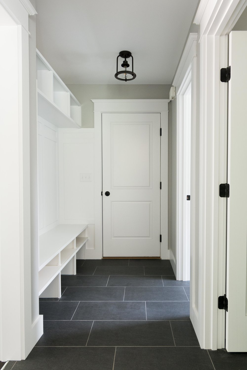 Grayson Colonial, Windham, Maine, Mudroom