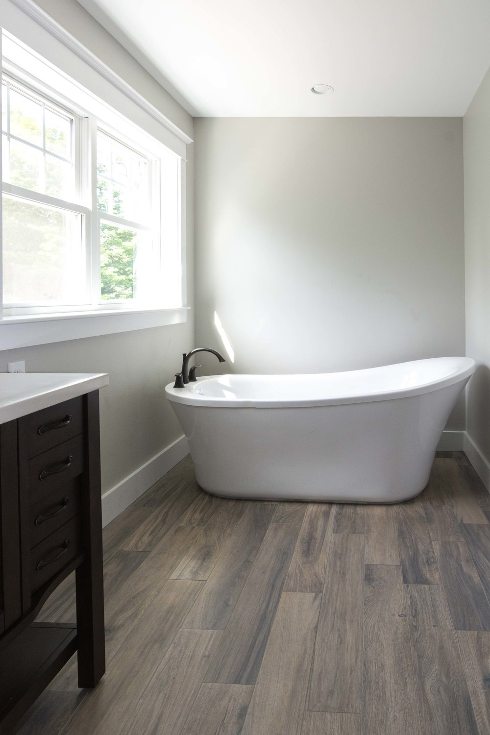 Grayson Colonial, Windham, Maine, Master Bathroom