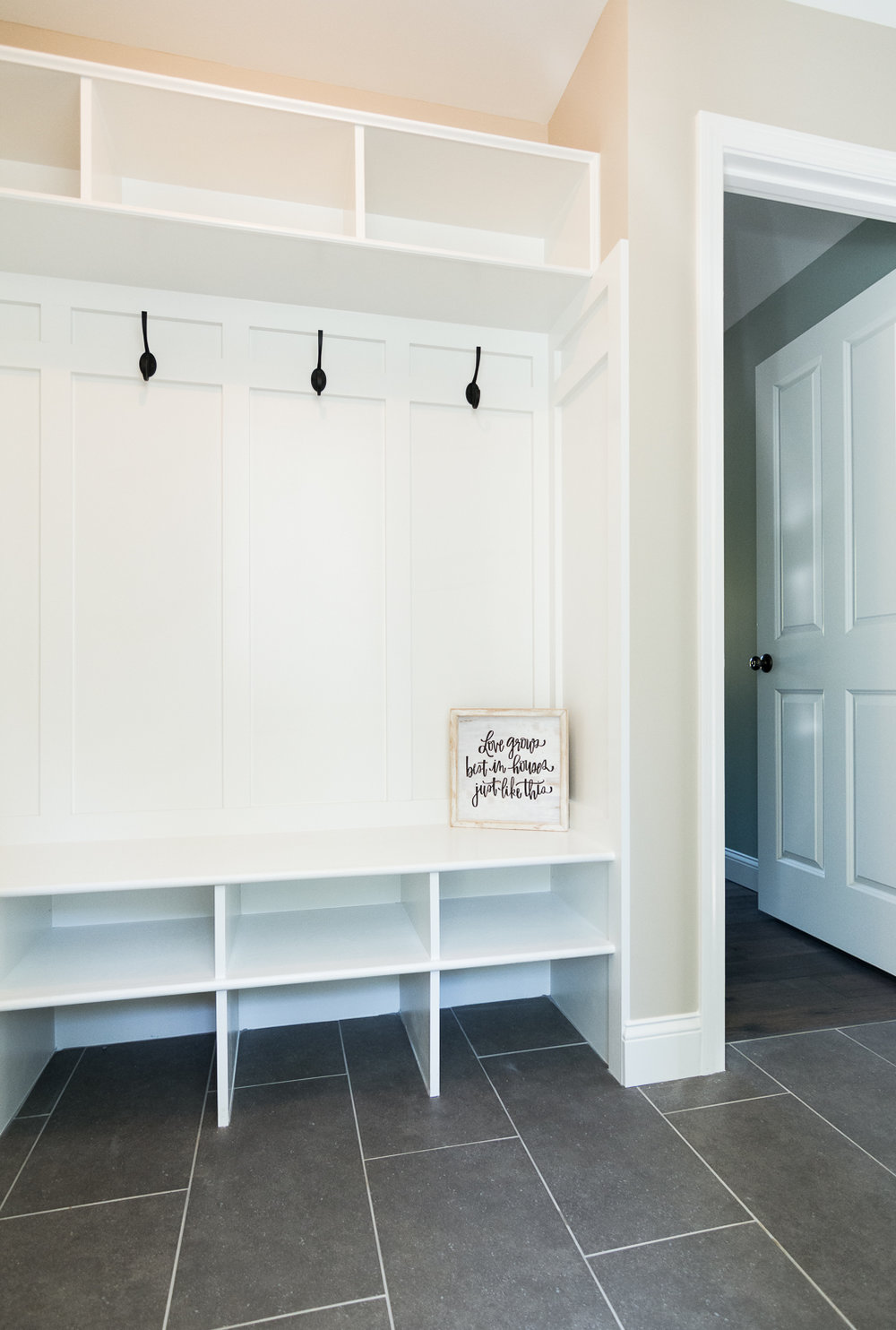 Cedar Hill Colonial, Cumberland, Maine, Mudroom